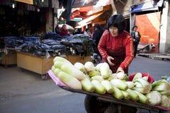 Ulica azjatycki Rynek Obrazy Stock