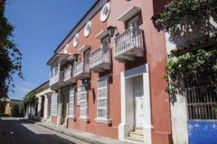 Ulica Cartagena De Indias Zdjęcie Royalty Free