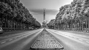 Ulica Czerwiec 17th w Berlin obrazy royalty free
