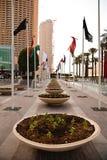 Ulica Dubaj obrazy royalty free
