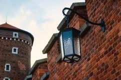 Ulica fałszujący lampion obraz royalty free
