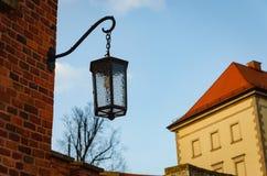 Ulica fałszujący lampion zdjęcia royalty free