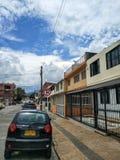 Ulica Ibague, Tolima, Kolumbia Zdjęcie Stock