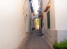 Ulica Ischia, Włochy Fotografia Stock