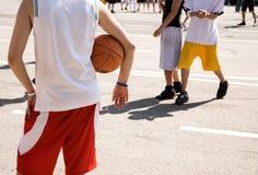 ulica koszykówki Zdjęcia Royalty Free