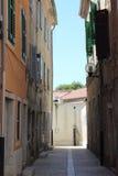 Ulica która pójść średniowieczni rycerze Fotografia Royalty Free
