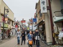 Ulica Kyoto, Japonia zdjęcia royalty free
