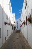 Ulica Mojacar, Almeria, Andalucia, Hiszpania Fotografia Stock
