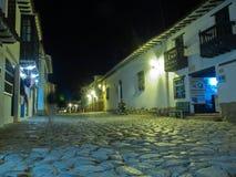 Ulica nocą Zdjęcie Royalty Free