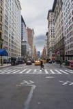 Ulica Nowy Jork miasto zdjęcia stock