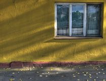 ulica okno Obrazy Stock