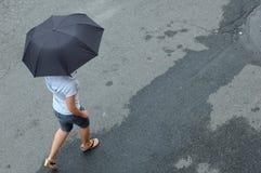 ulica parasolkę Zdjęcia Stock