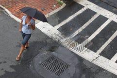 ulica parasolkę Obraz Stock
