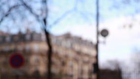 Ulica Paryż Jesień zbiory