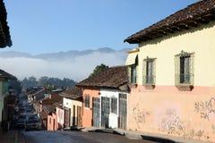 Ulica przy San Cristobal De Las Casas Zdjęcia Stock