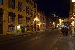 Ulica Quebec Stary miasto Zdjęcie Royalty Free