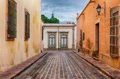 Ulica Queretaro, Meksyk Obrazy Royalty Free