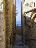 Ulica stary Jaffa Fotografia Royalty Free