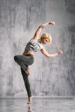 Ulica stylowy tancerz Obrazy Royalty Free