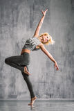 Ulica stylowy tancerz Zdjęcie Royalty Free