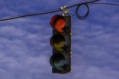 Ulica sygnał Obrazy Royalty Free