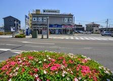 Ulica Utsunomiya, Japonia obraz royalty free