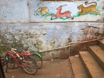 Ulica Varanasi Zdjęcia Royalty Free