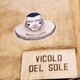 Ulica Verona, Włochy obraz stock