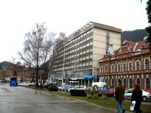 Ulica w Brasov Zdjęcia Stock