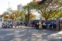 Ulica w Bulawayo Zimbabwe Fotografia Royalty Free