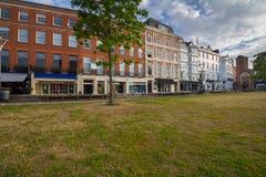 Ulica w centrum miasta Exeter Zdjęcie Royalty Free