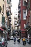 Ulica w centrum Naples fotografia stock