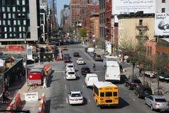 Ulica w Chelsea okręgu, Manhattan Fotografia Stock