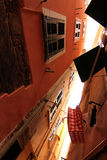 Ulica w Cinque Terre Fotografia Royalty Free