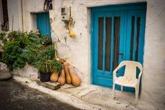 Ulica w Crete zdjęcie royalty free