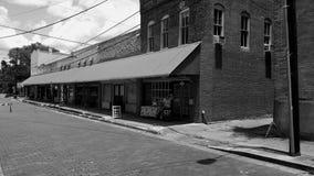 Ulica w czarny i biały Obrazy Royalty Free