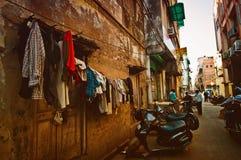Ulica w Delhi, India Zdjęcia Stock
