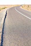 ulica w dolinnym Morocco Africa atlant suchy Obraz Royalty Free