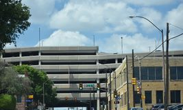 Ulica w Fort Worth, Teksas Zdjęcie Stock