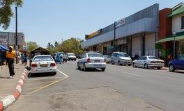 Ulica w Francis miasteczku, Botswana Obraz Stock