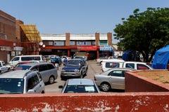 Ulica w Francis miasteczku, Botswana Fotografia Stock