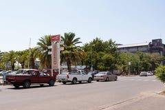 Ulica w Francis miasteczku, Botswana Zdjęcia Royalty Free