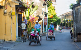 Ulica w Hoi, Wietnam Fotografia Stock