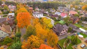 Ulica w jesieni Obraz Stock