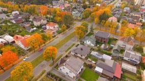 Ulica w jesieni Fotografia Royalty Free