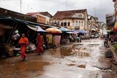 Ulica w Kambodża Obraz Stock