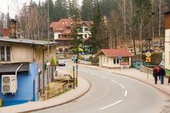 Ulica w Karpacz Zdjęcie Royalty Free