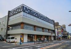 Ulica w Matsushima, Japonia Obrazy Royalty Free