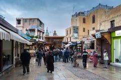 Ulica w Medina fez Zdjęcia Royalty Free