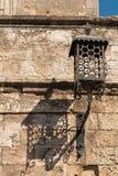Ulica w medival miasteczku Rhodes Obraz Royalty Free